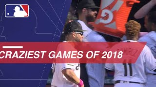 Craziest games of the 2018 season