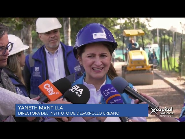 En agosto entregarán ciclorruta del Parque Simón Bolívar