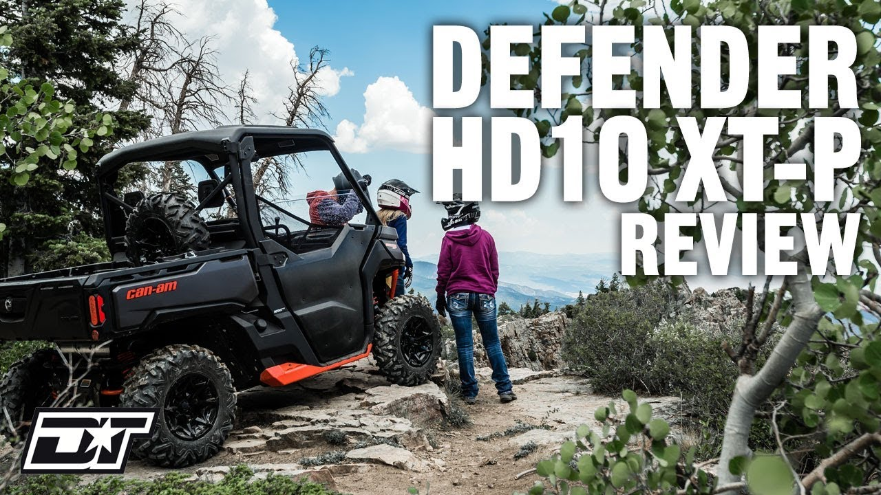 Full Review of the 2019 Can-Am Defender HD10 XT-P