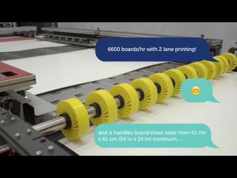 The new EFI™ Nozomi single-pass LED technology