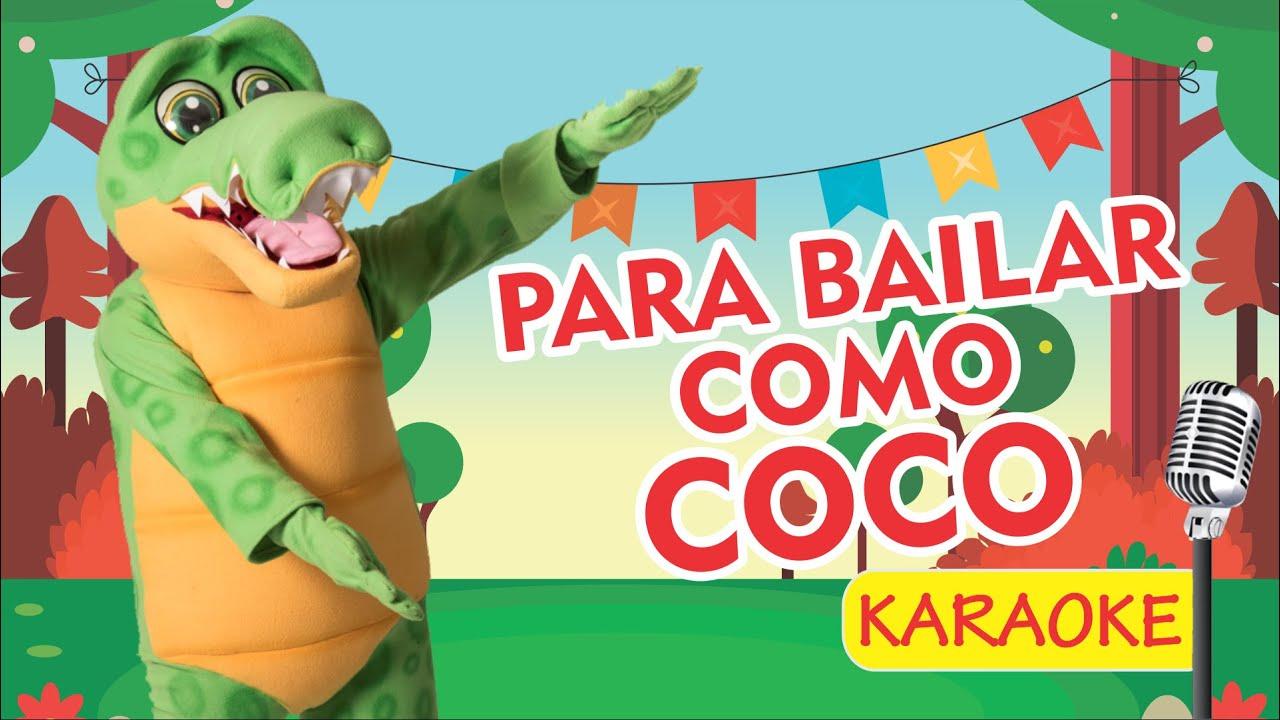 PARA BAILAR COMO COCO - KARAOKE (Video Oficial) - Payaso Chispita