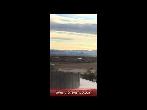 Video: UFO Sighting, Las Vegas, Nevada, 9th January 2016