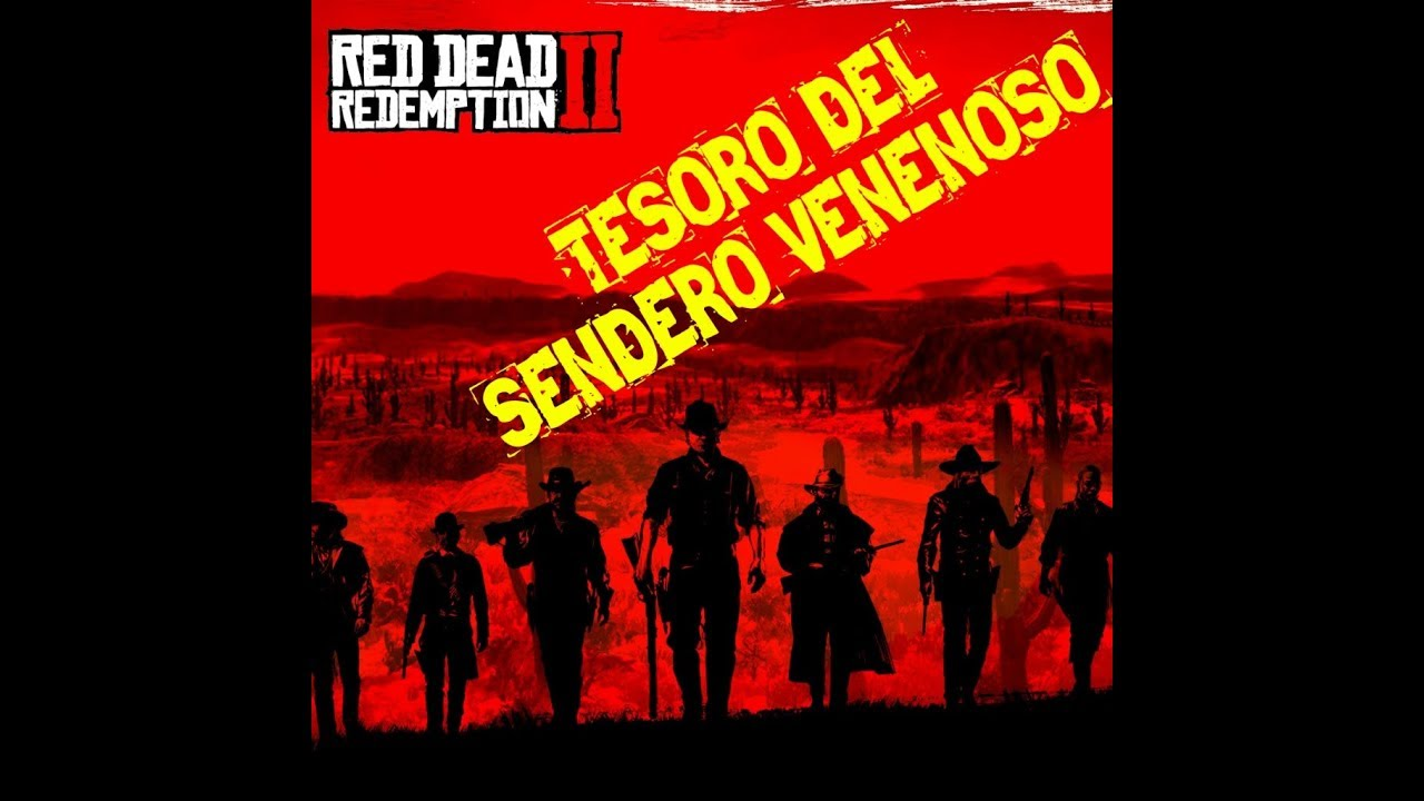 TESORO DEL SENDERO VENENOSO Red Dead Redemption 2