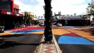 Beaufort St Pavement Artwork 2014