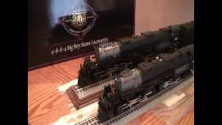 O Gauge Union Pacific Big Boy 4-8-8-4 Joshua Lionel Cowen JLC vs differences Lionmaster