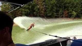 видео Водные лыжи