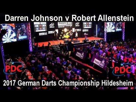 2017 German Darts Championship Hildesheim Darren Johnson v Robert Allenstein |  First Round