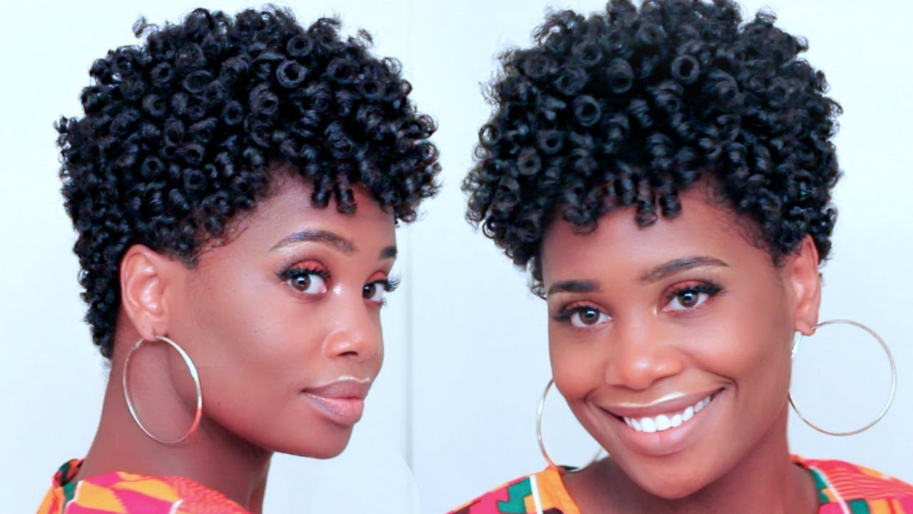 Spiral Curls On Tapered Natural Hair Feat Asiamnaturally Misskenk
