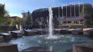 городские фонтаны Тюмени