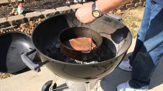 Dutch Oven Pot Roast On The Charcoals Part 1