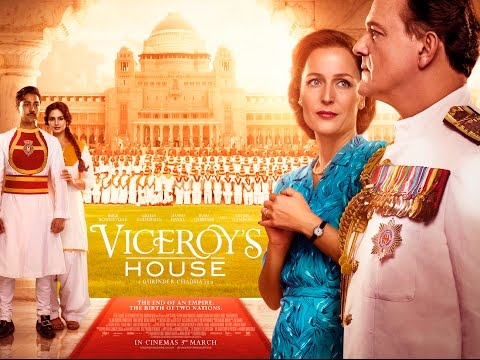 VICEROY'S HOUSE Official Trailer (2017) Gillian Anderson