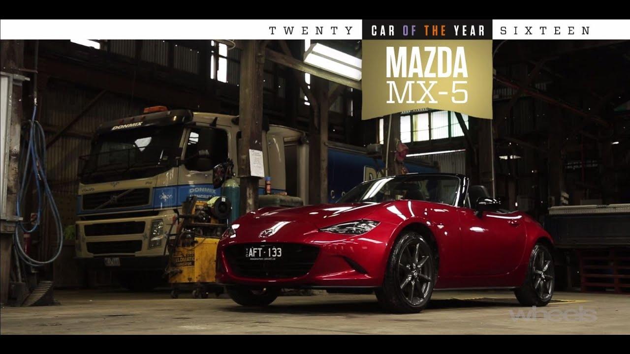 2016 Wheels Car Of The Year Winner Mazda Mx 5 Youtube