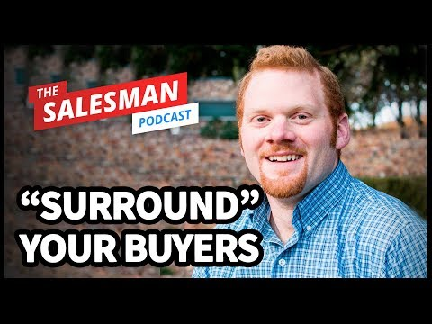 """Using Paid LinkedIn Advertising To """"SURROUND"""" Your Buyers With AJ Wilcox"""