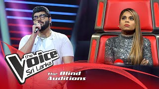 Sheymon Rauff - Mere Rashke Qamar | Blind Auditions | The Voice Sri Lanka Thumbnail