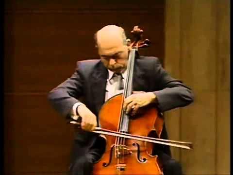 Janos Starker - Kodály Cello Solo Sonata III. Mvt
