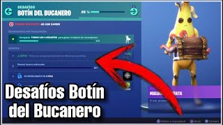 How to *Complete* all Buccaneer's Booty Challenges 🏴 ☠️ . . . . . . . . . . . . . . . . . . . . . . . . . . . . . Fortnite Battle Royale