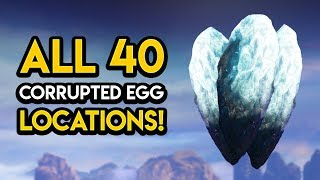 Destiny 2 - ALL 40 CORRUPTED EGG LOCATIONS!