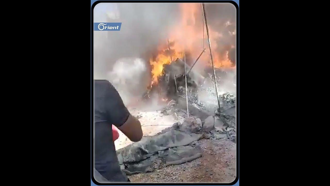 قبل قليل .. حريق يلتهم خيام النازحين في قرية كفر جالس شمال إدلب  - نشر قبل 58 دقيقة