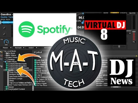 Live Spotify integration in Virtual DJ 8 - The M-A-T (See Notes for Update)