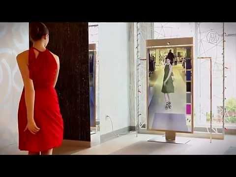 «Умные» примерочные помогают в выборе одежды (новости)