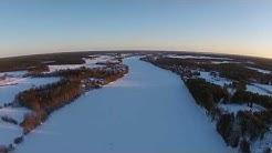 Talvipäivä Laitasaari Oulujoki Muhos 8.2.2015