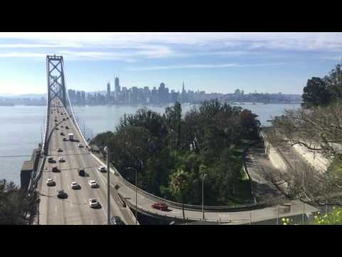 Time-lapsed video of the Bay Bridge traffic from Yerba Buena Island