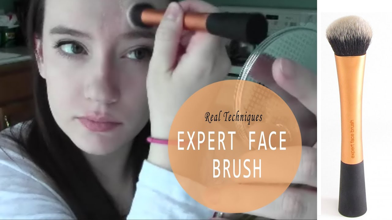 Real Techniques Expert Face Brush First Impressions Youtube
