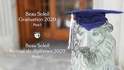 Graduation Ceremony 2020 Part I // Remise de diplômes 2020 Partie I