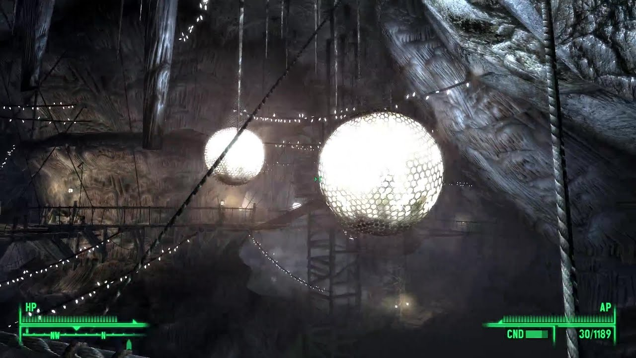 Fallout 3 Playthrough P81 Little Lamplight Great Chamber Youtube
