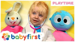 Playtime with Max   Fun at The Playground Playing Doctor   Baby First TV