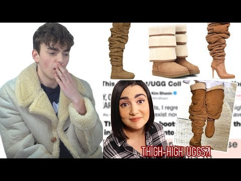 Fashion Critic Reacts To Safiya Nygaard's  I Wore Thigh-High Uggs For A Week