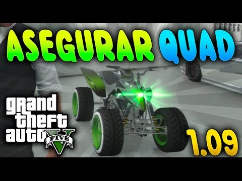 "gta v online | new glitch "" asegurar quad blazzer "" mejor truco de"