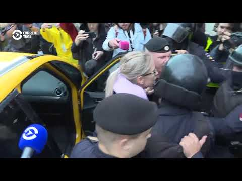 Russian Police Detain Opposition Activist Sobol Ahead Of Moscow Protest