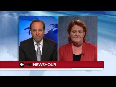 Sen.-Elect Heidi Heitkamp on Gun Control, Keystone Pipeline