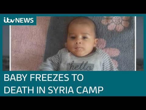 Babies And Young Children Dying In Cold In Syria | ITV News