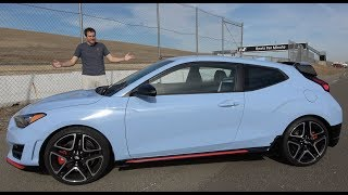 The 2019 Hyundai Veloster N Is a Thrilling Hot Hatchback смотреть