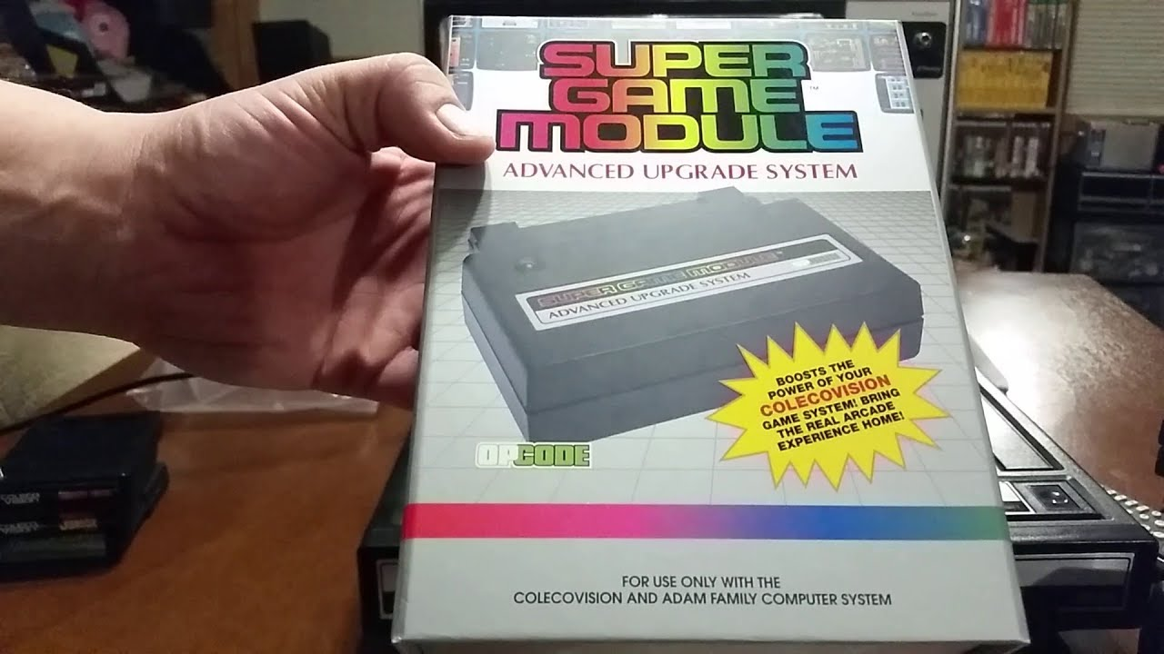 Coleco Super Game Module unboxing & quick overview of the ColecoVision game  system