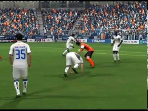 FIFA 14 (UEFA Champions League Spiel.96 Málaga CF vs FC Porto)