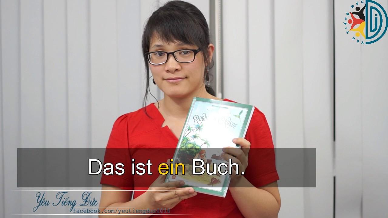 Học tiếng Đức cùng cô Thùy Dương - Bài 9: Mạo từ ở Nominativ