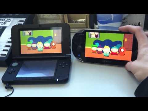 3DS XL Vs. Vita  Screen Size & Netflix