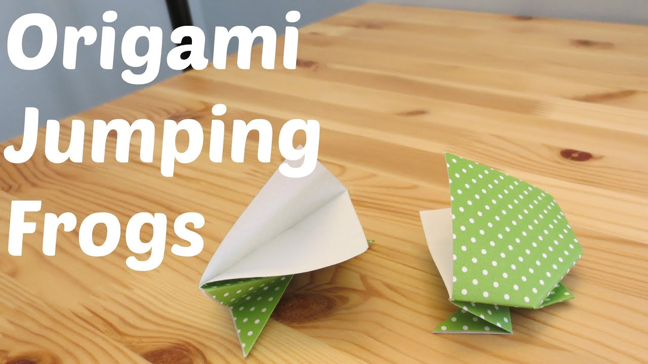 Origami Jumping Frog - YouTube - photo#39