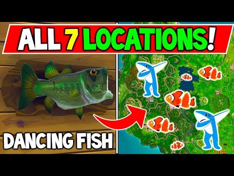 ALL 7 FISH TROPHY LOCATIONS!