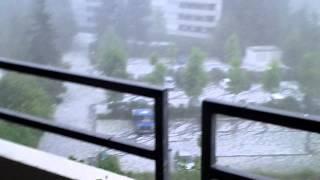 Unwetter Reutlingen am 28.07.2013