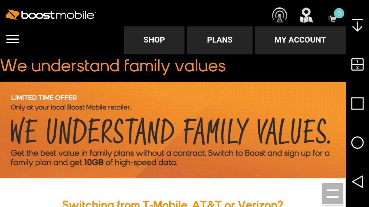 Port Your Number To A Family Plan From Boost Mobile U0026 Save Money