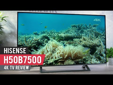 Hisense H50B7500 Review - Solid, reasonably priced 4K TV