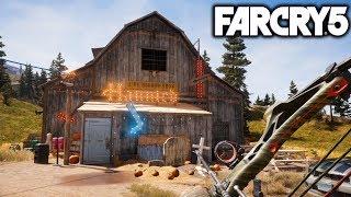 Far Cry 5. (Дом ужасов из 15 части)