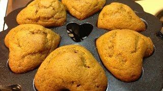 Pumpkin Muffins Recipe - Ecorico Live (unedited)