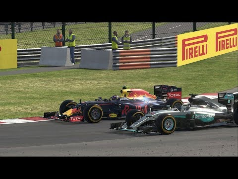 F1 2016 - Hungaroring Race 25% Dry @ Red Bull - Max Verstappen