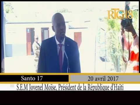 Le Président de la République, Jovenel Moïse a visité l'usine caribbean manufacturing S.A