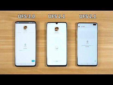 UFS 3.0 VS UFS 2.1 || Speed Test Comparison ||【Known Mobile】